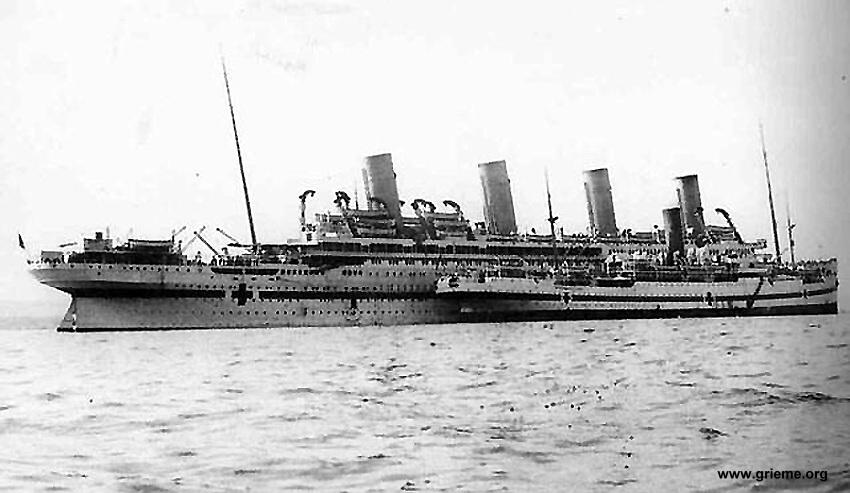 Le Galeka et le Britannic