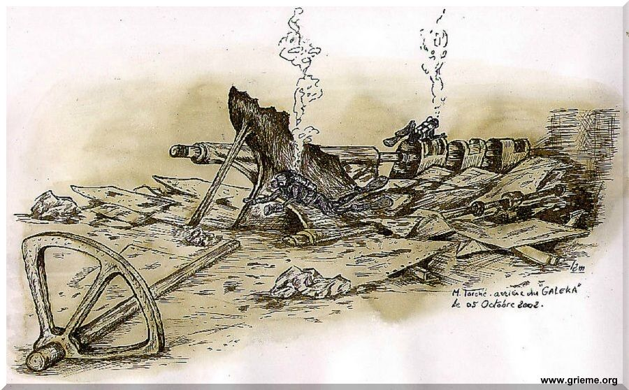 Le Galeka vu par Michel Torché dessinateur du GRIEME