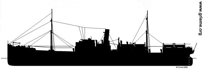 Silhouette du Galeka